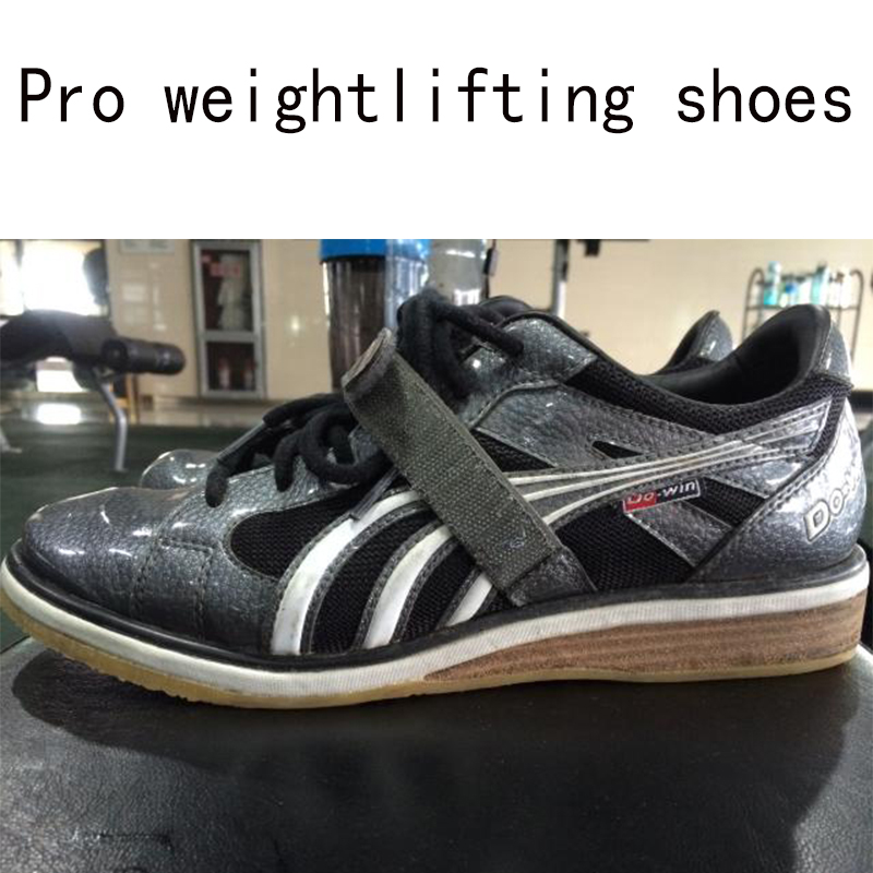 Performance Weightlifting Trainer Shoes Weightlifting Training Leather Slip Resistant Weightlifting Shoes EUR35-45 training shoes