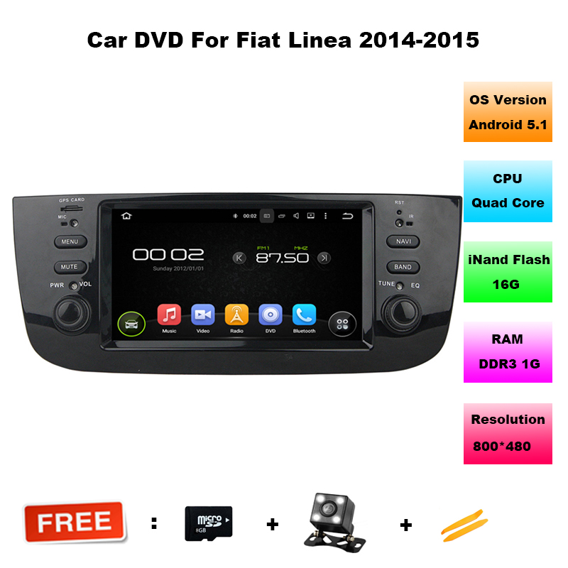Quad Core Android 5.1.1 for fiat Punto Car GPS player autoradio for fiat Punto 2012 2015 for fiat Linea car dvd player 2014 2015