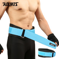 AOLIKES 1PCS Sport Pressurized Weightlifting Bodybuilding Waist Support Belt Fitness Squatting Training Lumbar Back Supporting