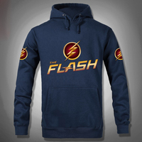 2016 Men Jacket DC Gookin Yee The Flash Super Hero Hoody Costume Hoodies Man Tracksuits Hoodies