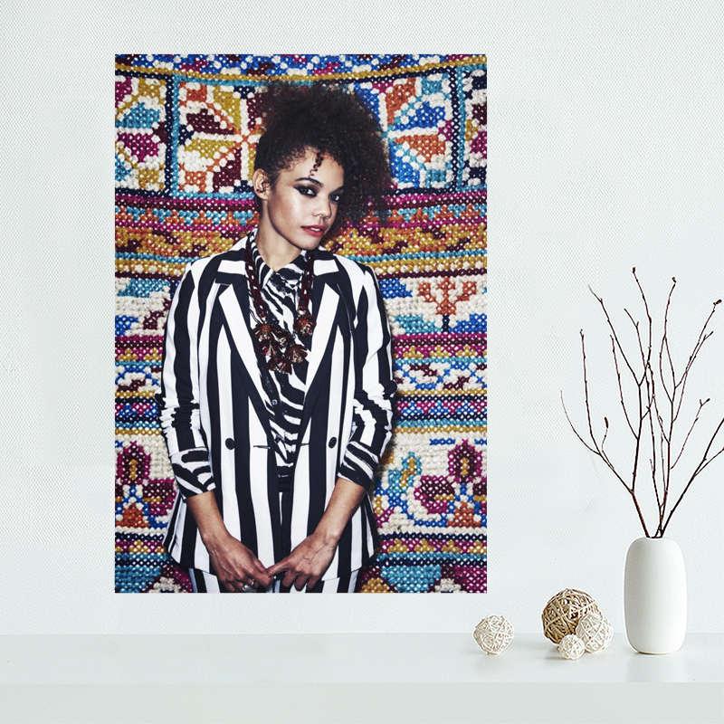 Custom Andreya Triana canvas poster Wall Art PRINT Home Decoration cloth fabric wall poster print Silk Fabric