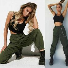 Women's Cotton Sweatpants High Waist Harem Pants Women Cloth
