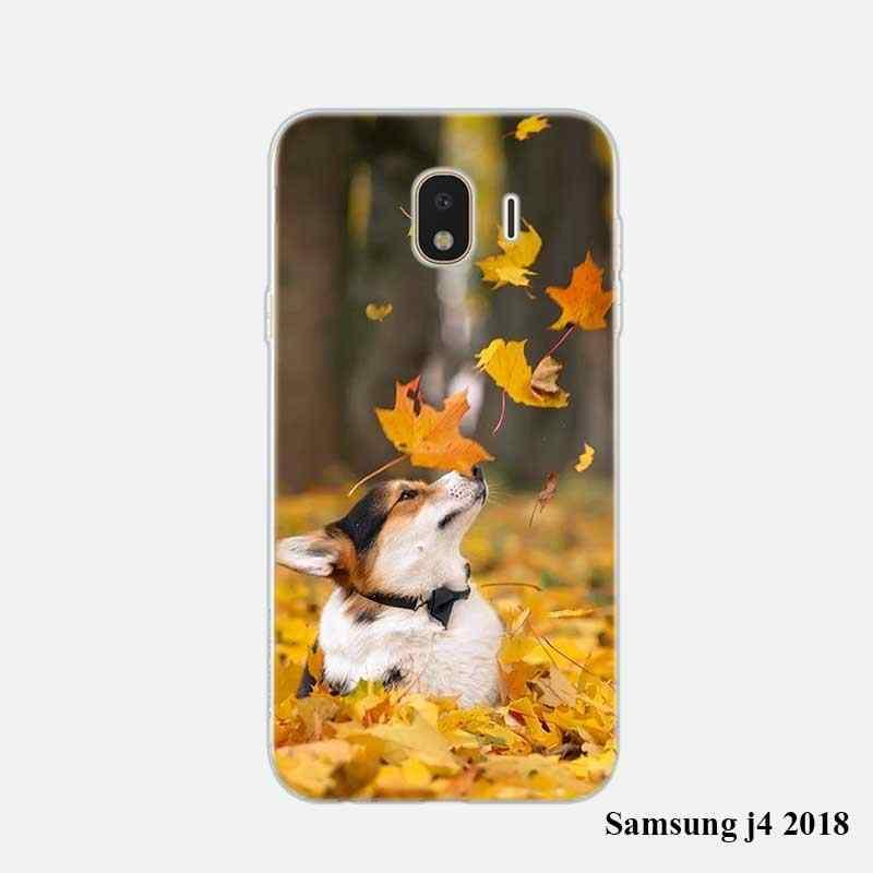 Мягкий силиконовый чехол для телефона с милой собачкой из материала Хаски для samsung Galaxy j8 j7 j6 j5 j4 j3 Prime Plus 2018 2017 2016