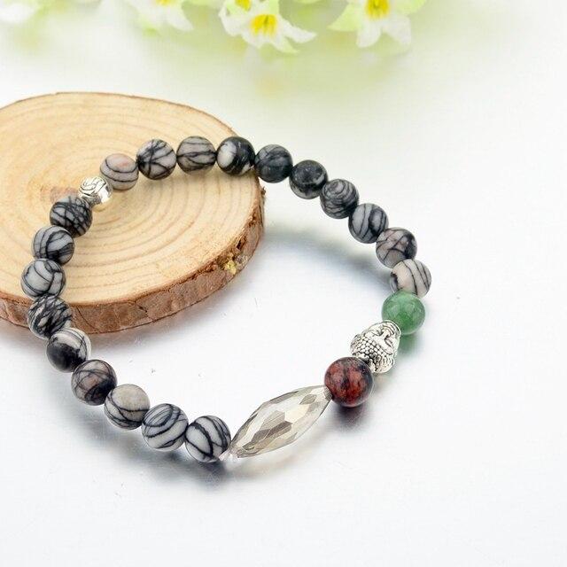 Купить женские и мужские буддийские браслеты chicvie из натурального картинки