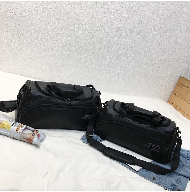 big luggage on duffle 6