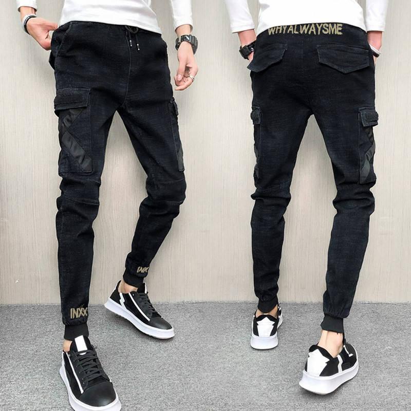 New Spring Jeans, Men's Skinny Pants, Social Spirit Pants, Students' Leggings.