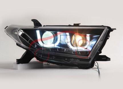 цена на U-style LED DRL+Lens+Xenon Headlights Assembly For Toyota Highlander 2011-2013