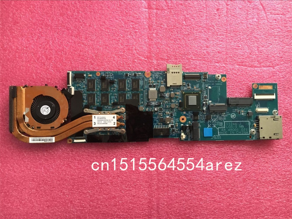 original laptop lenovo thinkpad x1 carbon motherboard mainboard with fan i7 3667u cpu touch 04x0495 w8p Original laptop Lenovo ThinkPad X1 carbon TYPE 34XX motherboard mainboard with fan i7-3667U CPU touch 04X0495 W8P