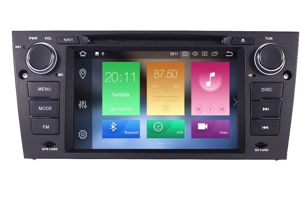 4 г + 32 г 8 Core Android 8,1 автомобилей Радио мультимедийный плеер для BMW E90 E91 E92 с ручной и автоматической рамка Wi Fi 4 г gps Bluetooth Радио dvd