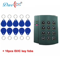 DWE CC RF card access system door reader weigand 26 34 rfid readers contactless access keypad reader
