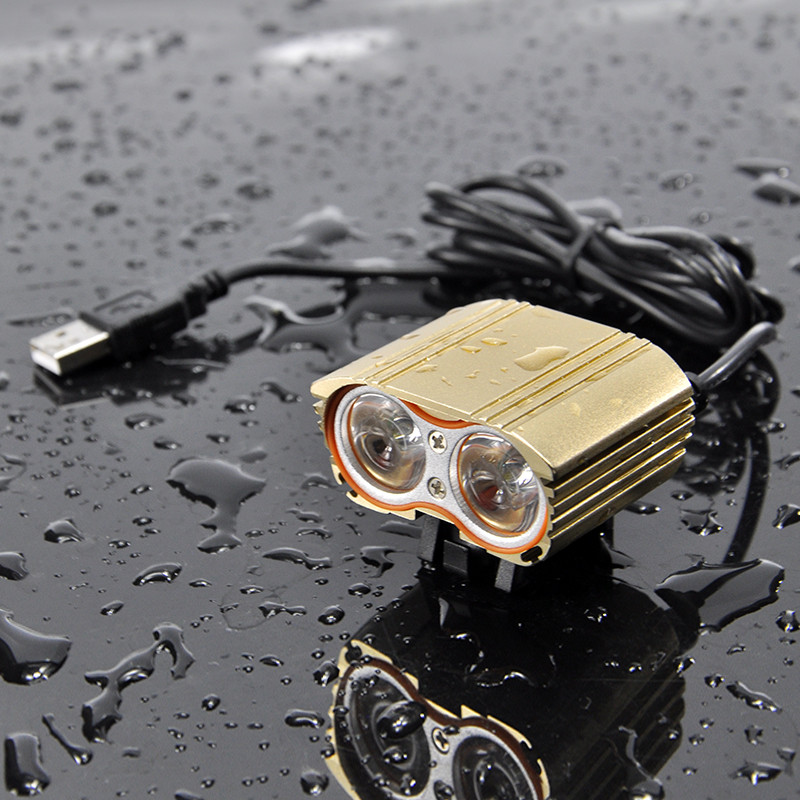New Waterproof 3000LM XM-L T6 LED Bicycle USB Head Light Lamp Accesorios para bicicletas