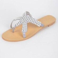 ผู้หญิงที่สง่างามแบนรองเท้าแตะรองเท้าสุภาพสตรีFlip Flopsชายหาดรองเท้าแตะรองเท้าสาว2015หมุดที่กำหนดเองทำรองเท้าแตะรองเท้าแตะชายหาด