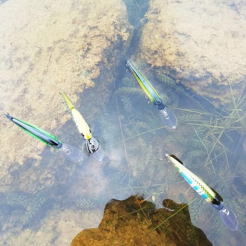 Sealurer Floating Minnow Pesca Hard Baits Ձկնորսություն - Ձկնորսություն - Լուսանկար 6