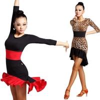 New Adult Latin dance dancing costume women sexy latin dance dress female ballroom dancewear women dancing dress