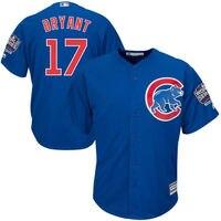 MLB Men S Chicago Cubs Kris Bryant Baseball Royal Alternate 2016 World Series Champions Cool Base
