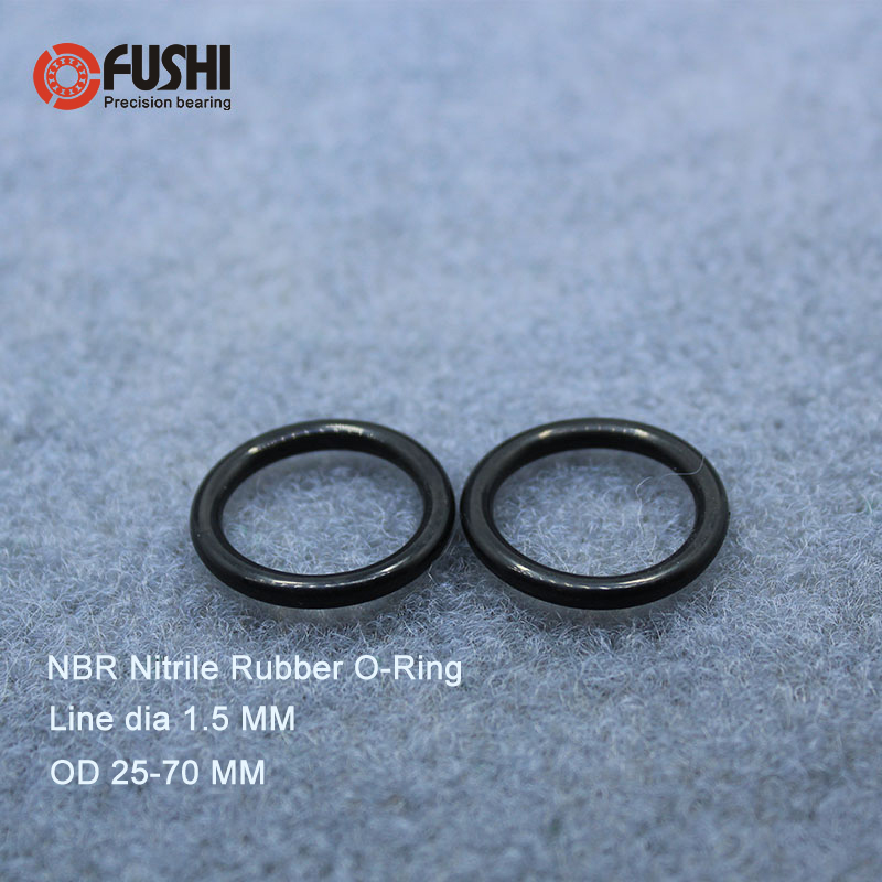 20Pcs 36mm x 1.9mm Black Flexible Nitrile Rubber O Ring Oil Seal Washer Grommets
