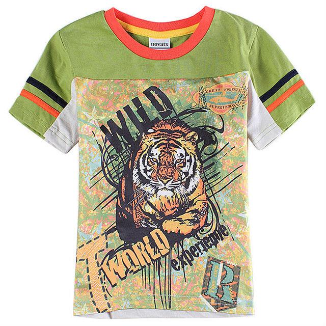 Bebé camiseta para el niño camiseta embroma la ropa del muchacho tops y las camisetas del verano del estilo niños ropa roupas infantis menino C6043Y