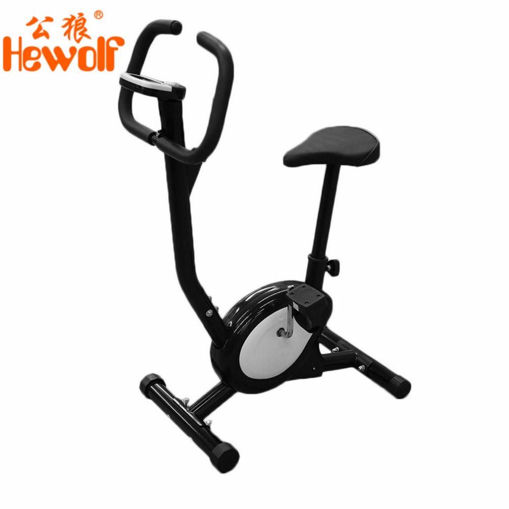 New Professional Home Electric Exercise Bike Cycling Machine People Health Recovery Cardio Aerobic Equipment Black and White ancheer new x shape folding magnetic upright exercise bike with pulse fitness equipment 100kg magnetic upright exercise bike