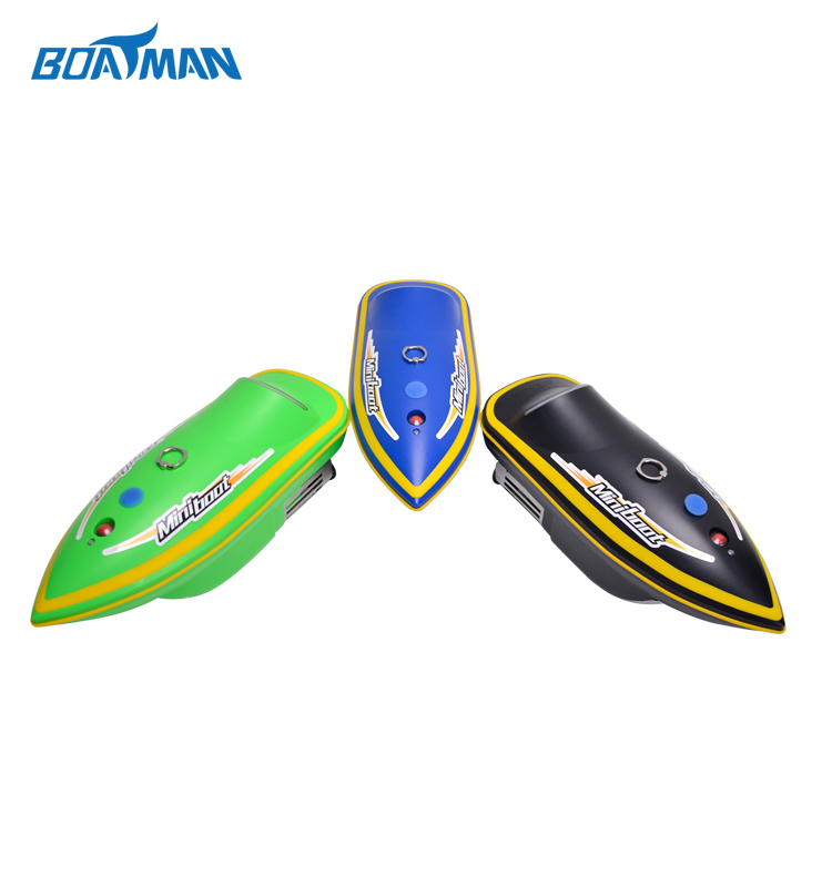 Free shipping Boatman mini 2.4G RC bait lure fish finder bait boat for release fishing bait