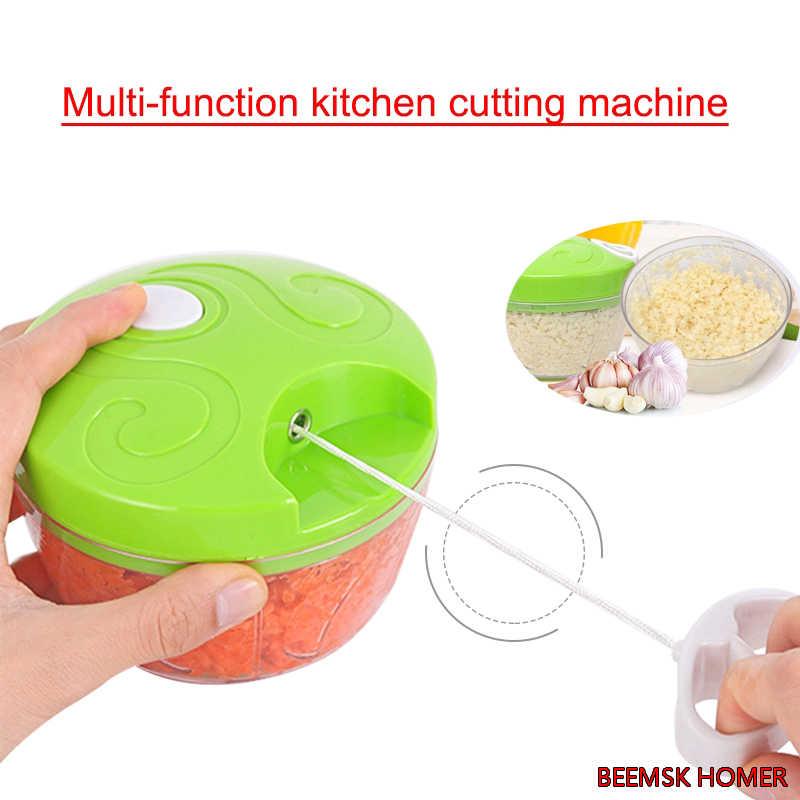 BEEMSK Multi-função manual do Cortador de Legumes Cenoura Ralador de Batata Manual de Cebola Cortador Fácil Picadora de Alimentos Fatiadoras Cozinha Gadget