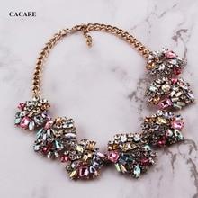 8227d1f7b0d4 Vintage collar de las mujeres Maxi grande colgante barato joyería de moda  Collares de declaración F1029 con diamantes de imitaci.