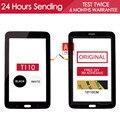 ОРИГИНАЛ ИСПЫТАНИЯ 7.0 дюймов Wi-Fi Сенсорный Экран Для SAMSUNG Galaxy Tab 3 Lite 7.0 SM-T110 T110 Сенсорный Экран Планшета Бесплатный Клей