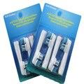 4 unids Dual Clean cepillo de dientes de reemplazo SB417A Oral B cepillo de dientes eléctrico jefes Oral Care higiene dientes limpios herramientas