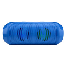 HANTOPER Portable wireless Bluetooth Speaker Stereo 6W system TF FM Radio Music Subwoofer Column Speakers for iPhone Computer