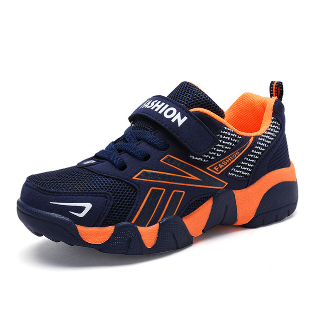 15982d643353 Boys Shoes 2018 Big Kids Running Shoes Children s Sports Shoes Breathable  Athletic Mesh Sneakers Spring and Autumn