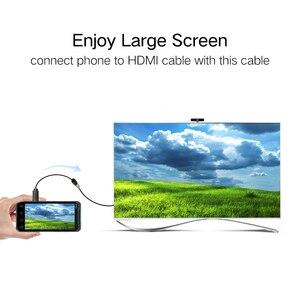 Image 2 - Ugreen Micro HDMIประเภทDไปยังHDMIประเภทหญิงอะแดปเตอร์M/F Converterแปลงสำหรับแท็บเล็ตpc Tvโทรศัพท์มือถือ 1080P