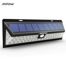 Mpow 54 СИД Солнечный Свет Водонепроницаемый Солнечные Фонари с 120 Градусов Широкоугольный Motion Солнечный Свет с 3 Режимов для Сада Путь