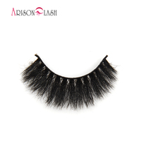 Arison 3D Eyelashes Fashion Natural Full Strip Lashes Handmade Lash Extensions Horse Fur Permanent Fake Eyelashes