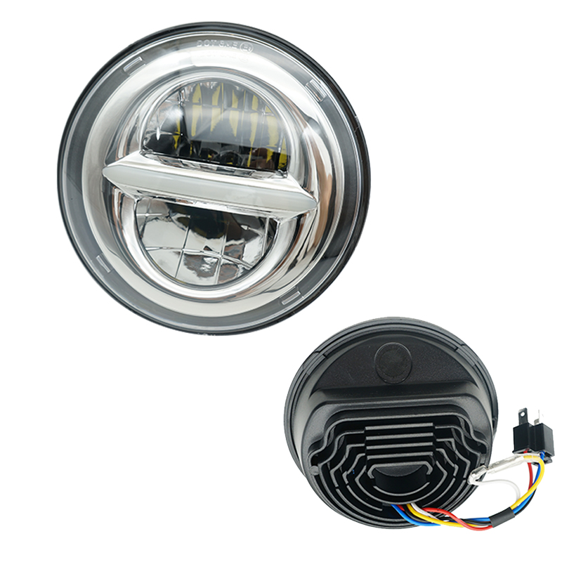 Round Harley Dyna Sportster 1200 48 883 5.75 inch projector led headlight For harley Davidson motobike 5-3/4'' DRL Lights mtsooning timing cover and 1 derby cover for harley davidson xlh 883 sportster 1986 2004 xl 883 sportster custom 1998 2008 883l