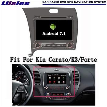 Liislee Android 7.1 2 г Оперативная память для Kia Cerato/K3/Форте автомобилей Радио Аудио Видео Мультимедиа dvd-плеер WI-FI DVR GPS Navi навигации