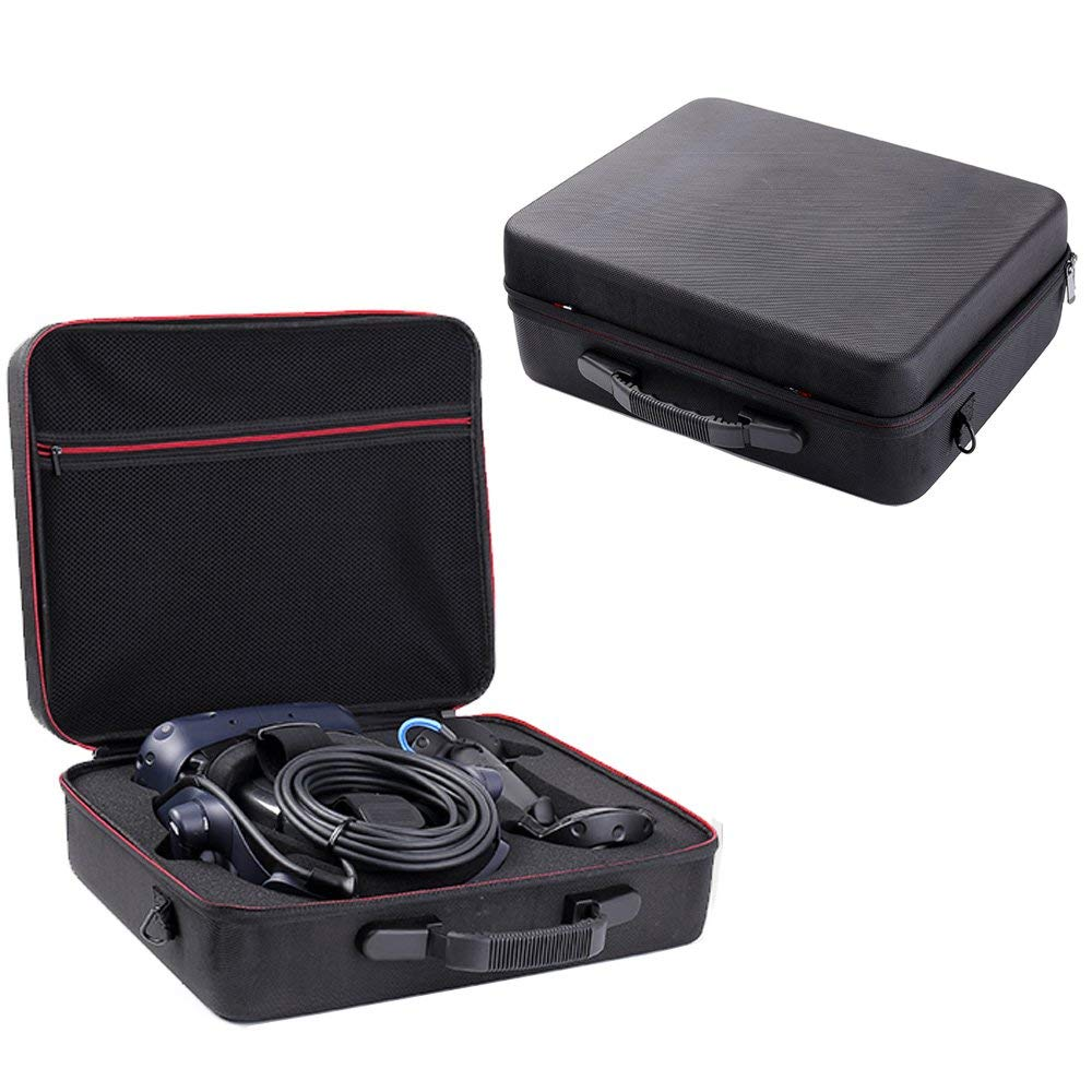 Newest VR Hard Travel Bag Protect Cover Storage Box Cover Pouch Carry Case For HTC VIVE Pro Virtual Reality Headset AccessoriesNewest VR Hard Travel Bag Protect Cover Storage Box Cover Pouch Carry Case For HTC VIVE Pro Virtual Reality Headset Accessories