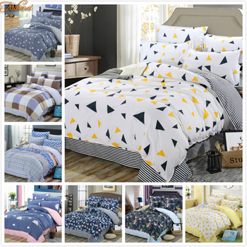 Big Size King Queen Double Full Twin Single 3/4 pcs Bedding Set Soft Cotton Bed Linen Adult Couple Kids Child Duvet Cover Sheets