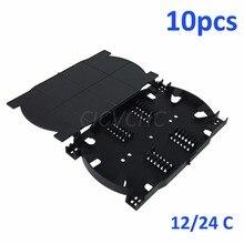 10pcs 24 Cores and 12 cores Fiber Splice Tray/FTTH Fiber optics Cassette Splice tray