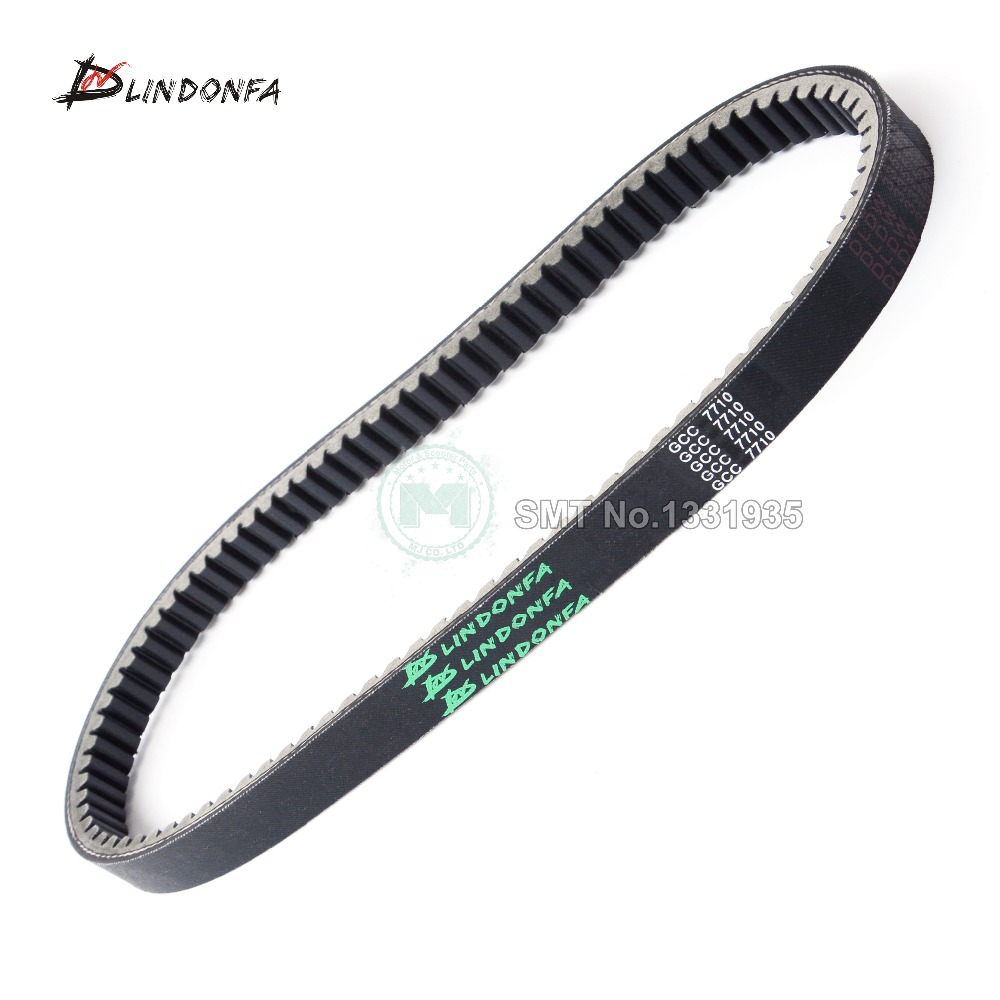 DW Good Quality Motorcycle Scooter Moped ATV Drive Belt  23100 GCC 7710 M1 For WH100 Lead 100 SCV 100 Spacy 110