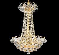 Gold Crystal Pendant Light Lighting Modern Chrome Crystal Pendant Lights Fixture Width 40cm 55cm And 68cm