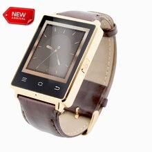 2016 No1 D6 Android 5.1 WIFI 3G Teléfono Smartwatch MTK6580 Quad A Core 1 GB 8 GB con GPS 3G SIM Del Ritmo Cardíaco de Bluetooth Inteligente reloj