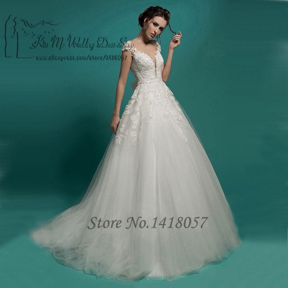 Vestido de Noiva Princesa White Vintage Wedding Dress 2016 Country ...