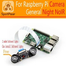 Raspberry Pi NoIR Night camera With free 2 IR light