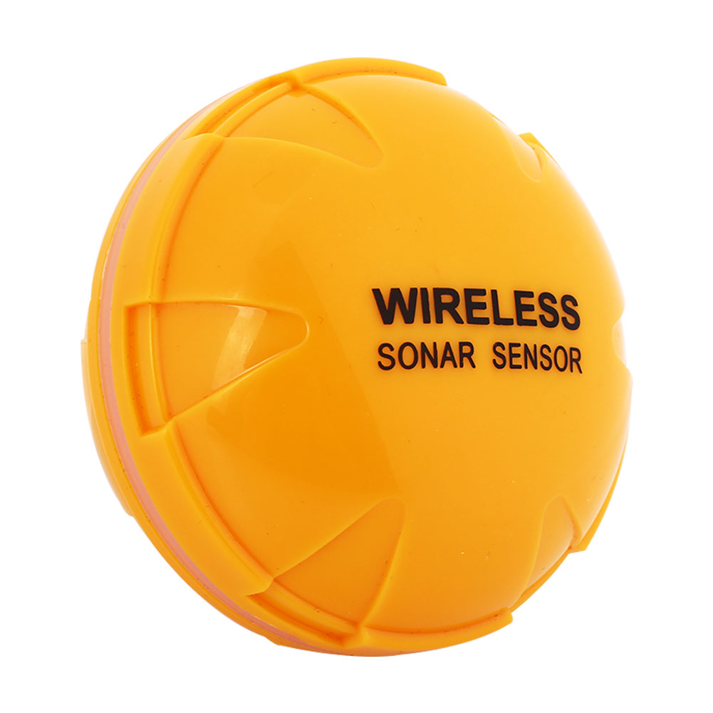 WiFi Wirele Bluetooth Smart рыбопоисковый сонар IOS Android смартфон рыболокатор Shore планшет лодка 125 кГц озеро 36 м приложение море - Цвет: yellow