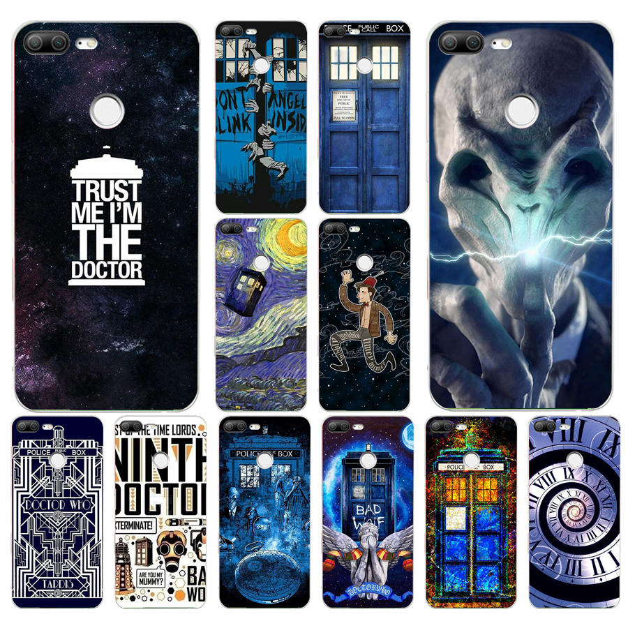 Strict 249fg Tardis Box Doctor Who Gift Soft Silicone Tpu Cover Phone Case For Huawei Honor 9 Lite And To Have A Long Life. Half-wrapped Case