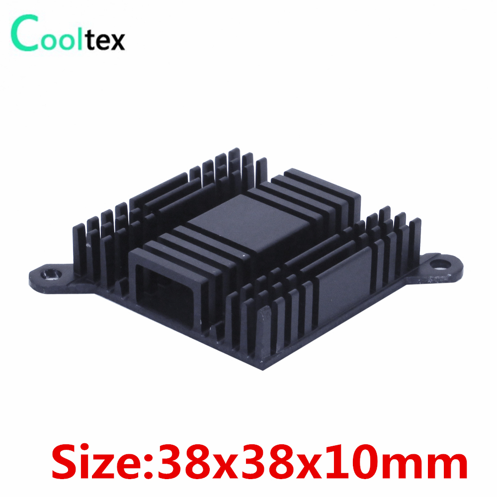 (4pcs/lot) High quality 38x38x10mm Aluminum heatsink pitch:59mm for South and North Bridge radiator heat sink cooler cooling(China)
