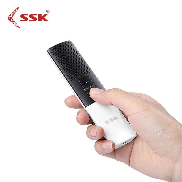 SSK Bluetooth Smart Language Translator двухсторонний перевод в реальном времени 80 + языковой перевод для обучения путешествию