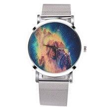 Fashion New Business Watches Women Luxury Sliver Stainless Steel Mesh Band Quartz Watch Womens Bracelet Wrist Watch Relogio #Ju