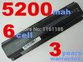 5200 mAh Bateria para HP Pavilion G3000 G5000 dv1000 dv4000 dv5000 para Compaq Presario C300 C500 M2000 v2000 v4000 v5000