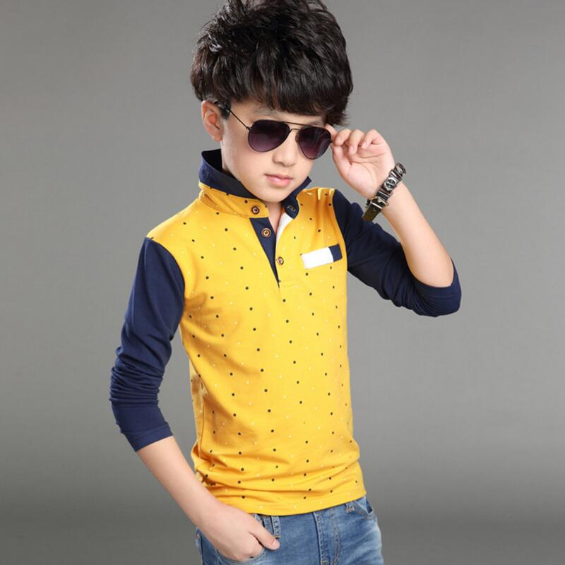 School Baby Big Boy Clothes Children's T shirt Long Sleeve ...