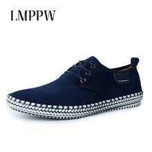 Купить с кэшбэком Big Size 38-47 Men Shoes Casual Shoes Handmade Comfortable Breathable Male Boat Shoes Fashion Soft Leather Casual Sneakers 2A